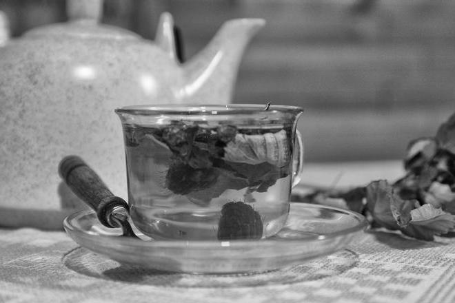 Ashberry and raspberry leaf tea